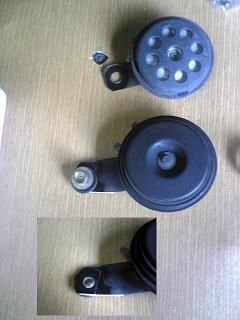 YZF-R1 CRM250ARホーン交換のカスタム手順2