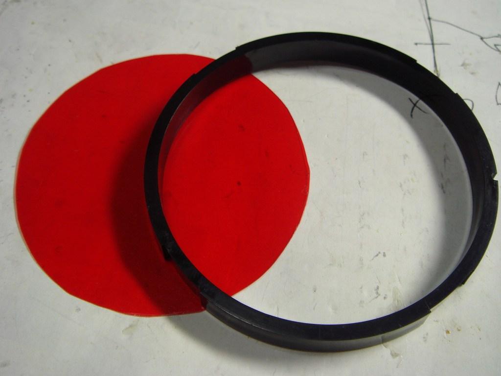 PIVOT X3バックライト赤色化①