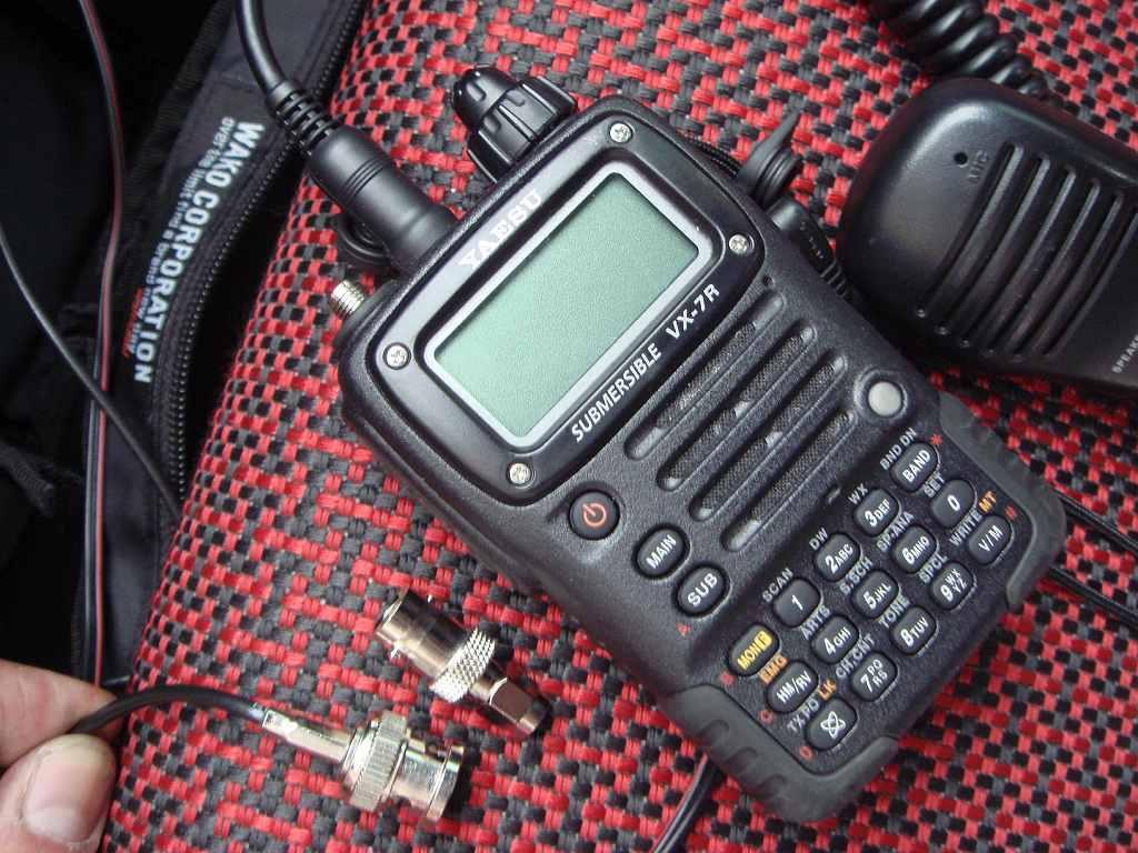 アマチュア無線用 マグネットアンテナ装着