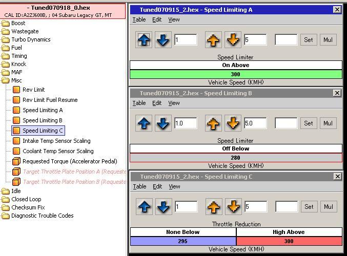 【ECU】リミッターカット/Closed Loop閾値変更/DBWマッピング変更