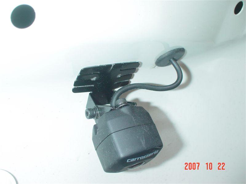 バックカメラ PIONEER ND-BC2 付け直し