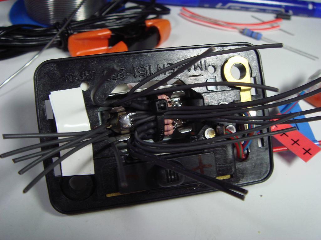 LEDルームランプ【最終型】日亜×42発①電球型端子製作