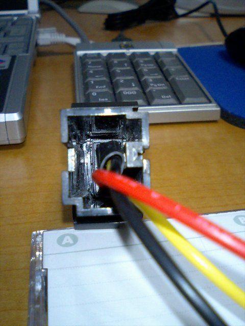 ETC 車載器の電源取り出し方法変更