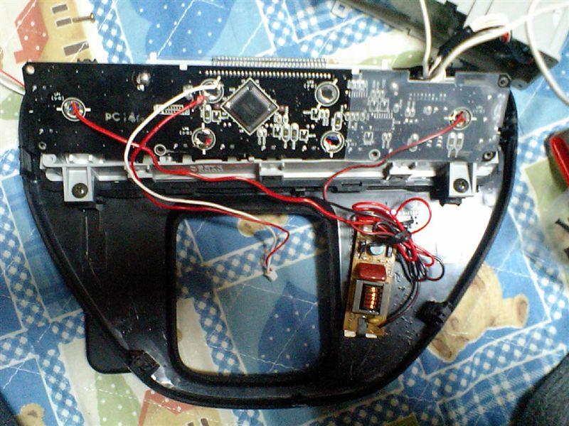 エアコンパネル液晶バックライトの変更
