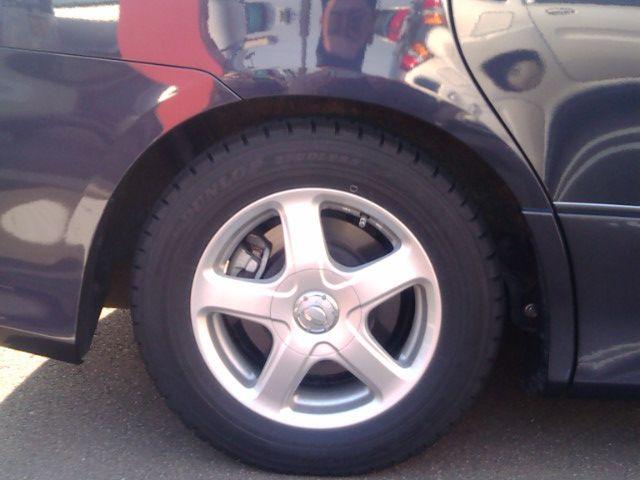 車高調取り付け前と取り付け後