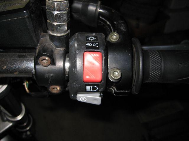 ヘッドライト回路に小細工