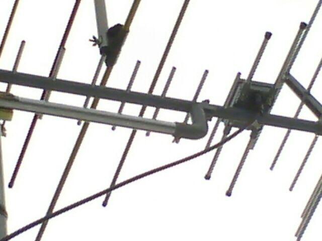 UHFアンテナ増設工事