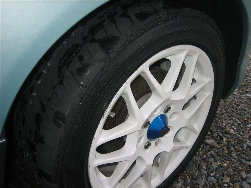 タイヤ交換&洗車