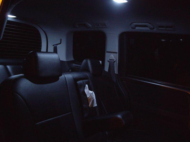 ☆LED化☆ ルームランプ-後席&リアゲート(FLUX12灯)