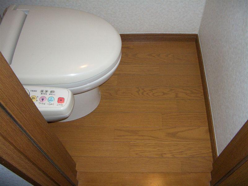 (自宅履歴)トイレの床に謎の水?結露ってか~?