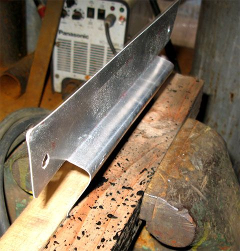 クールラジエーターもどきのアルミ板の曲げ加工