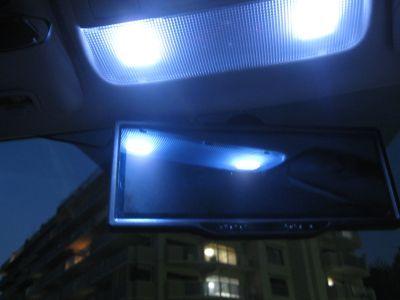 マップランプ交換(LED)