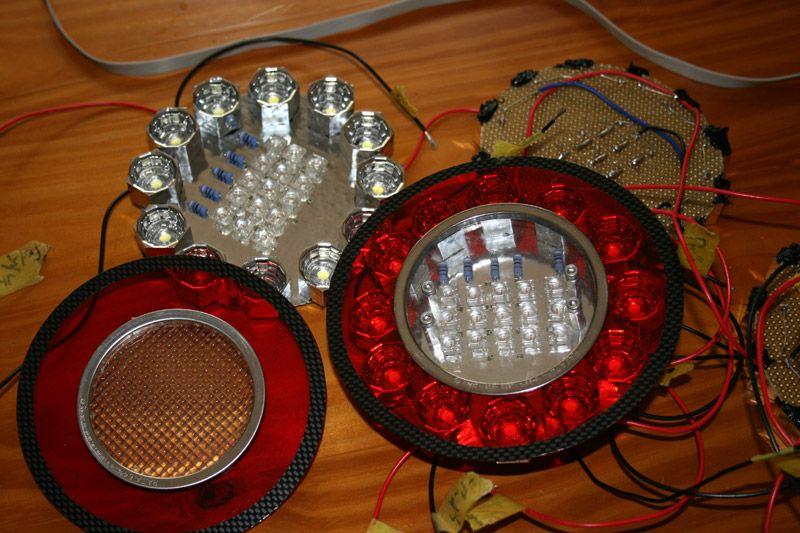 自作LEDテールランプ PART2