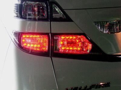 ブレーキランプ4灯化