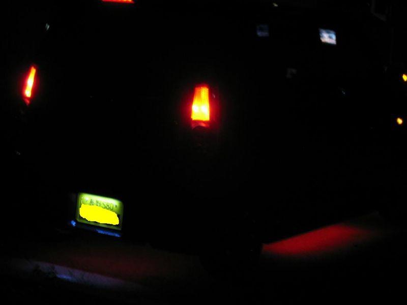 ブレーキで色が変わるブレーキ連動アンダーネオン その②