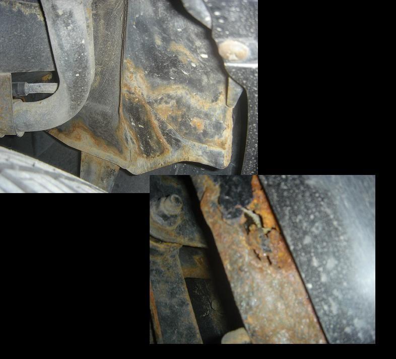 車下回り防錆対策