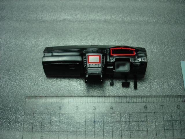 FZ250 Phazer (フェーザー) 8日目:メーターパネルLED化、ナビLED化のカスタム手順2