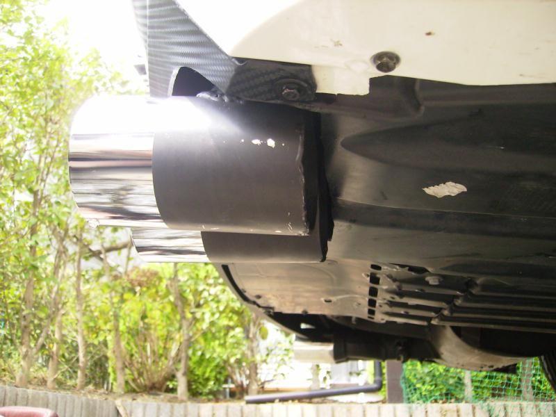 マフラー交換 REMUS POWER SOUND 76φラウンドツイン (L&Rシステム)