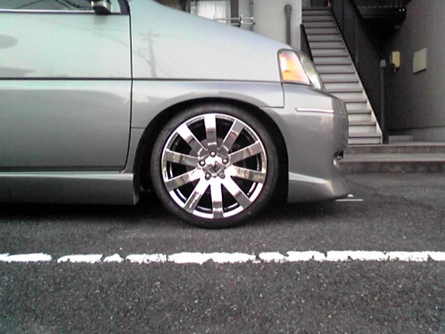 タイヤを組んでみた!の巻
