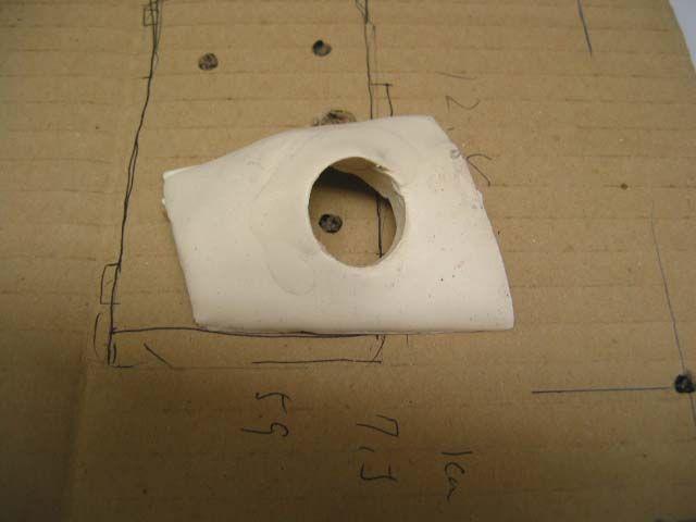 助手席ドアミラーカメラのカバー製作