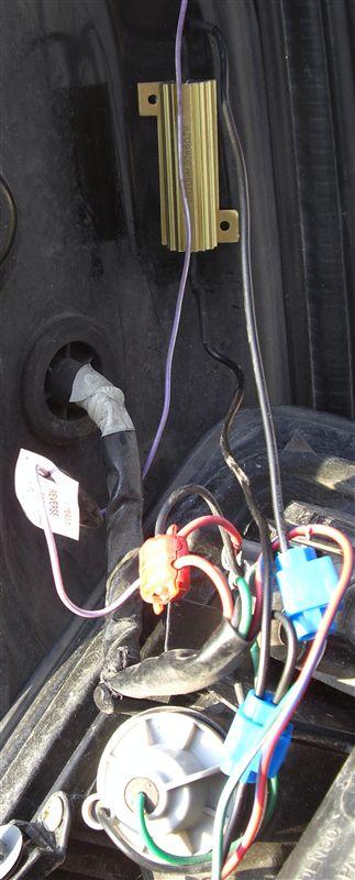 LEDテールに用ABS点灯を解消