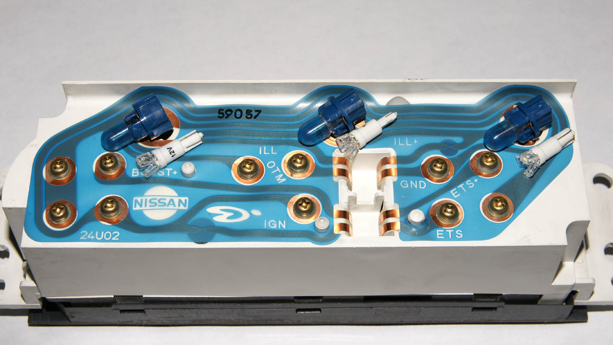 LED化(nismo 3連サブメーター・エアコンコントローラー)
