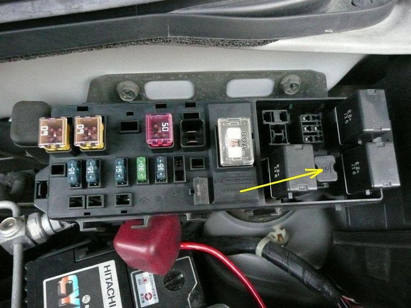 レジスター交換(MD21S AZ-ワゴン)