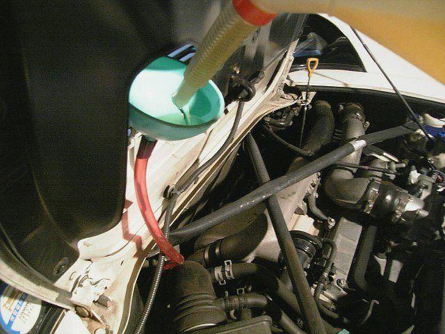 エンジン&ミッションオイル交換