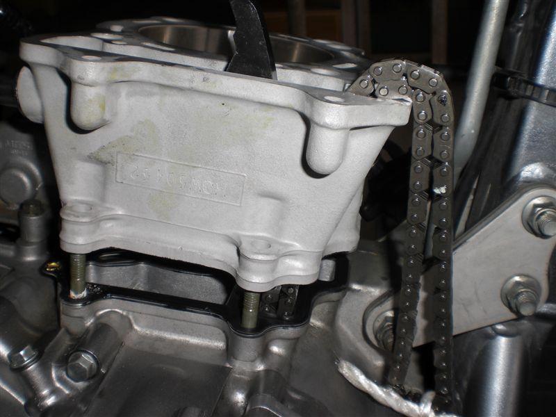 DR-Z エンジン オーバーホール DIY 組み立て 2