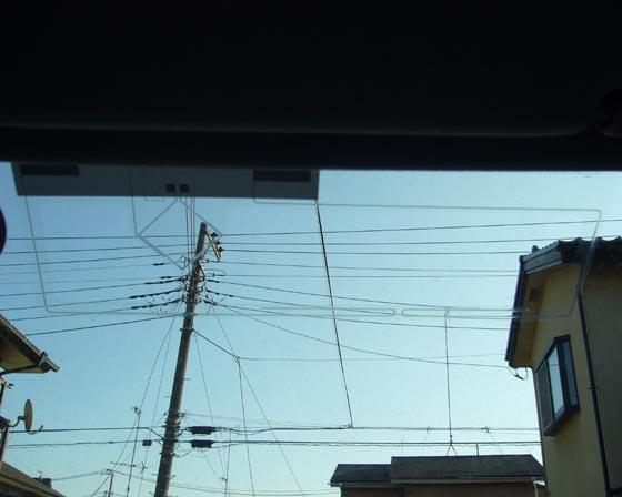 【ノア】 TVアンテナ取付け