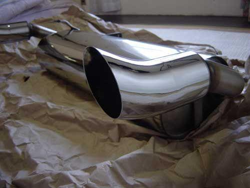 MGFAMT(ドイツ) MGF用スポーツマフラー DTMタイプの単体画像