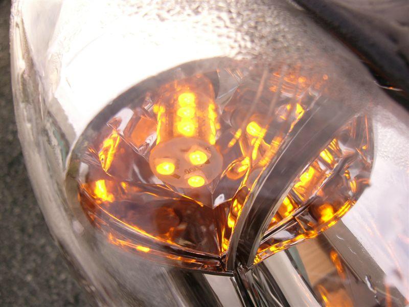LED亀石屋 T20-18SMDチップLEDアンバー色