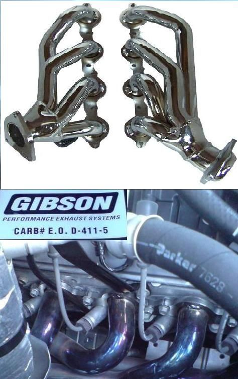 シボレーその他GIBSON Performance Headers GP129+ Performance Exhaust Systemの単体画像