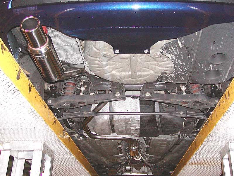 モンデオ ワゴンスルガスピード スペシャルオーダーマフラーの単体画像