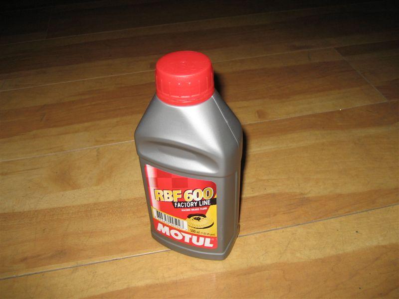 MOTUL RBF 600 FACTORY LINE BRAKE FLUID