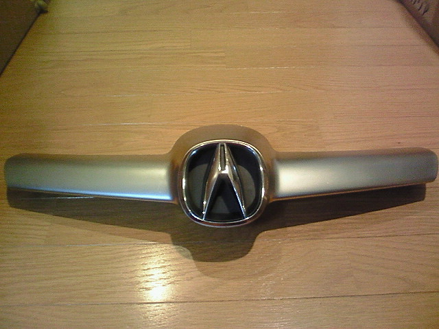"MDXHONDA GENUINE PARTS Front ""ACURA"" Emblem & Center Moldingの単体画像"