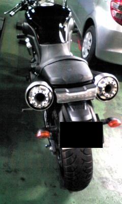 MT-01ベビーフェイス IDEAL スリップオンマフラーの単体画像