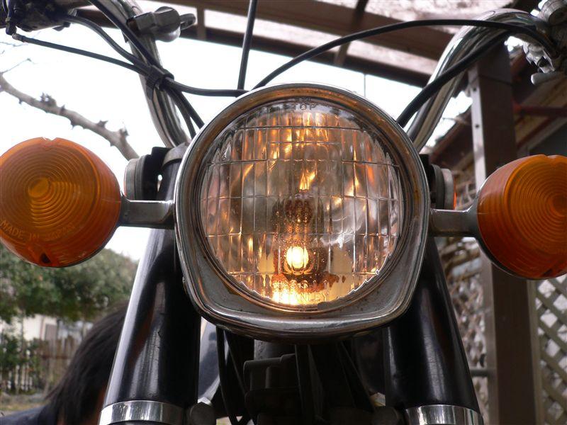 K50ノーマル 純正ヘッドライトの単体画像