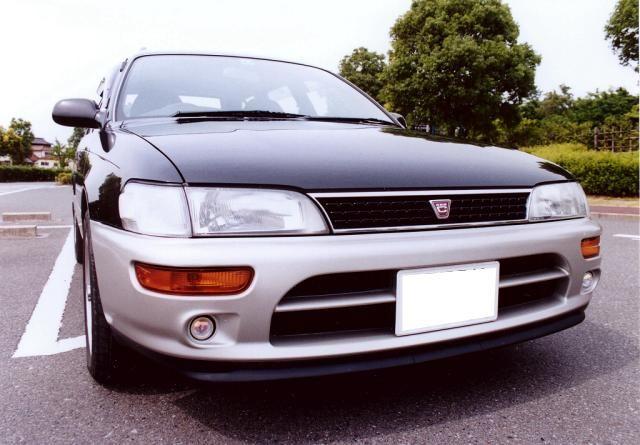 カローラツーリングワゴントヨタ純正 AE101 FX用バンパ-&スポイラーの単体画像