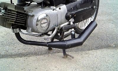 K50不明 モンキー用ショート管の単体画像