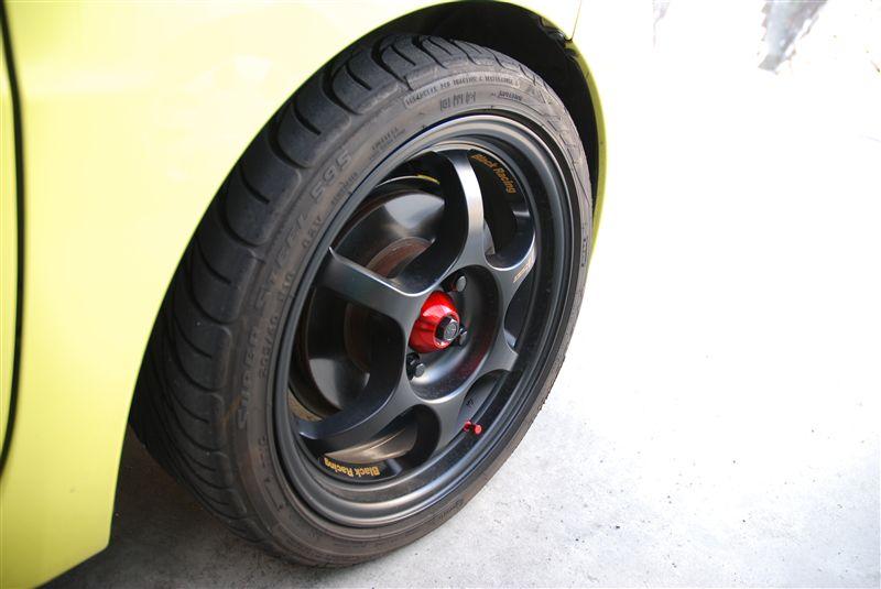 WiLLサイファBlack Racing PRO N1の単体画像