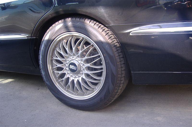 プラウディア三菱純正BBS GTO純正17インチの単体画像