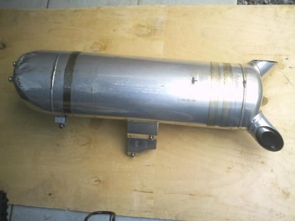 XB9Sビューエル純正品 純正レース管の単体画像