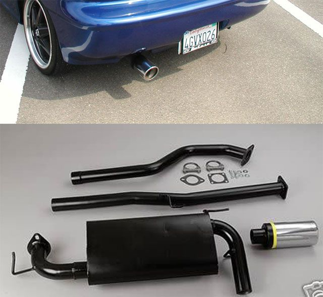 PAネロPACE SETTER MONZA EXHAUST SYSTEMの単体画像