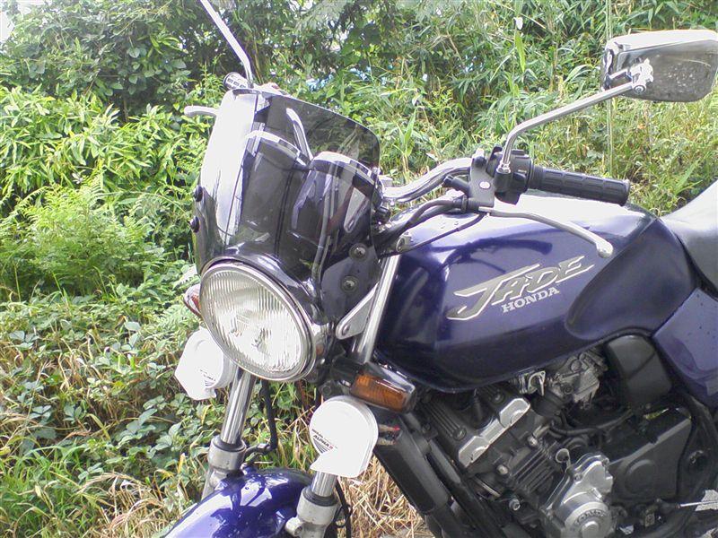 ジェイド(バイク)ホンダ純正 CB400SF(NC42)用 メーターバイザーの単体画像