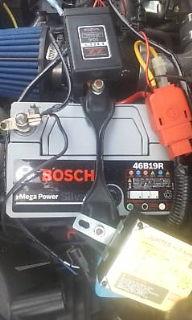 ボッシュ ボッシュ シルバーバッテリー 46B19R