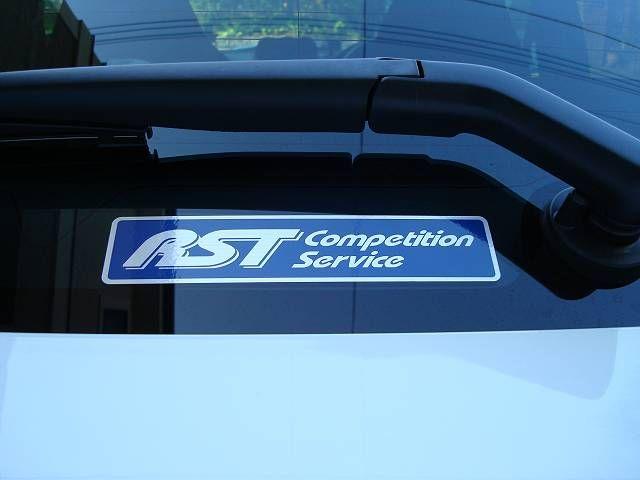 RST RSTステッカー