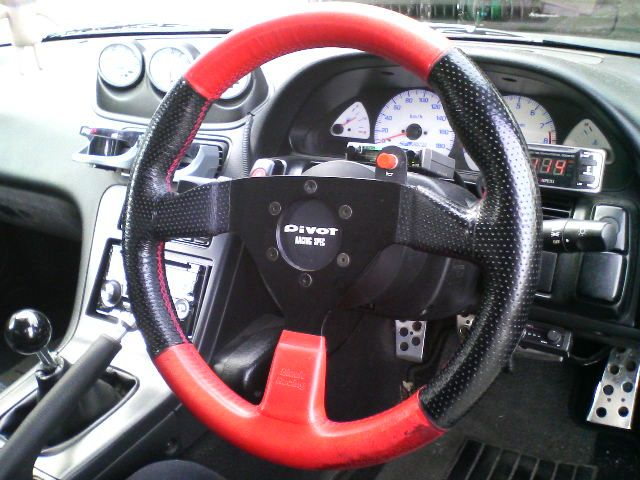 BRブラックレーシング Φ350ステアリング