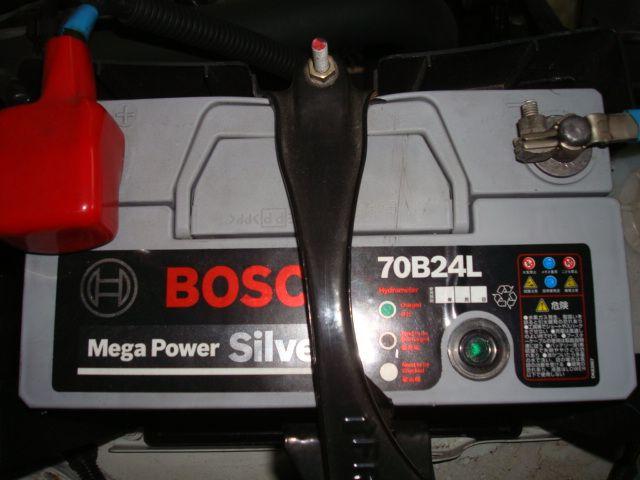BOSCH MEGA POWER SILVER バッテリー 70B24L