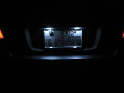 SUBARU車用 FluxLED工房[Sain]シャイン 3連Cリアナンバーランプ